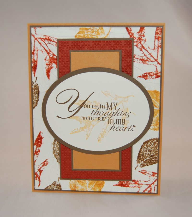 French Foliage Stamp Set