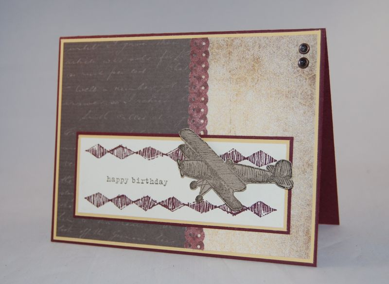 Plane & Simple Stamp Set