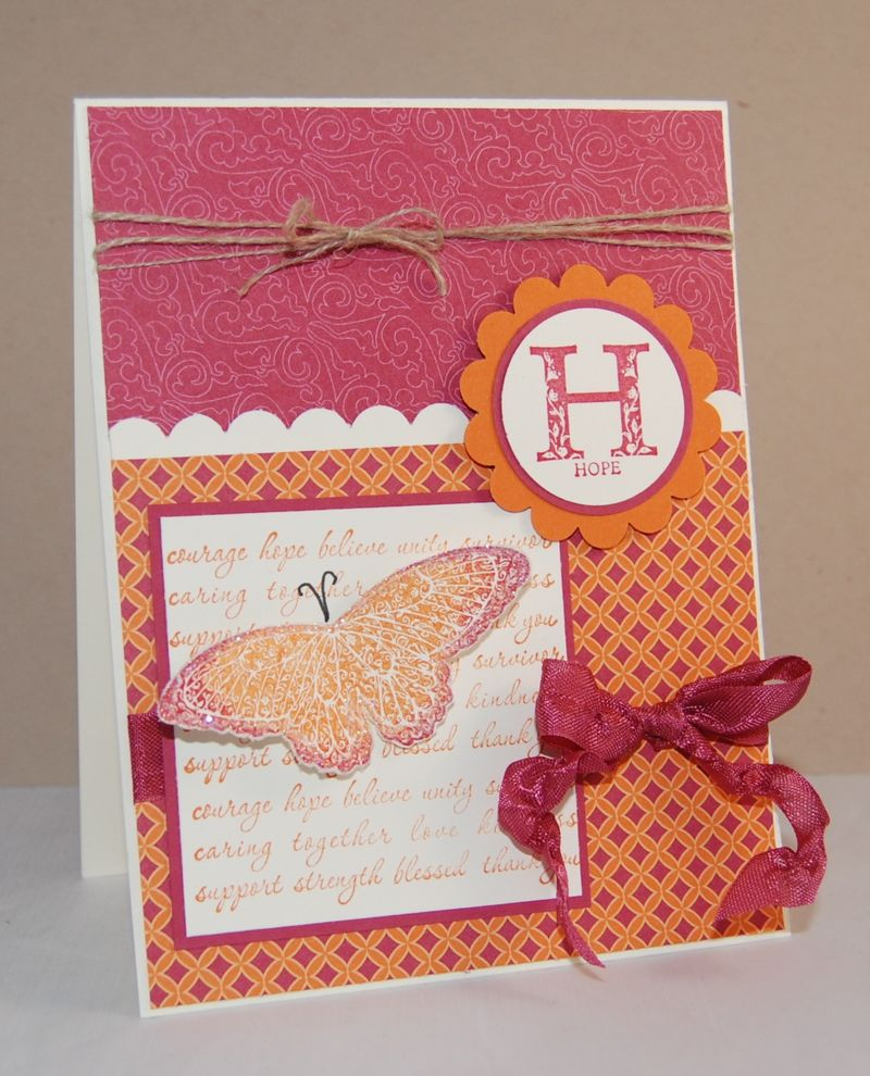 Strength & Hope stamp set