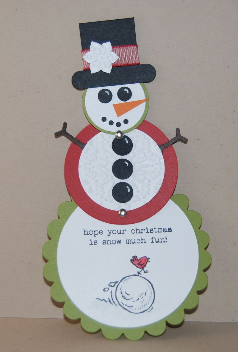 Telescoping Snowman open