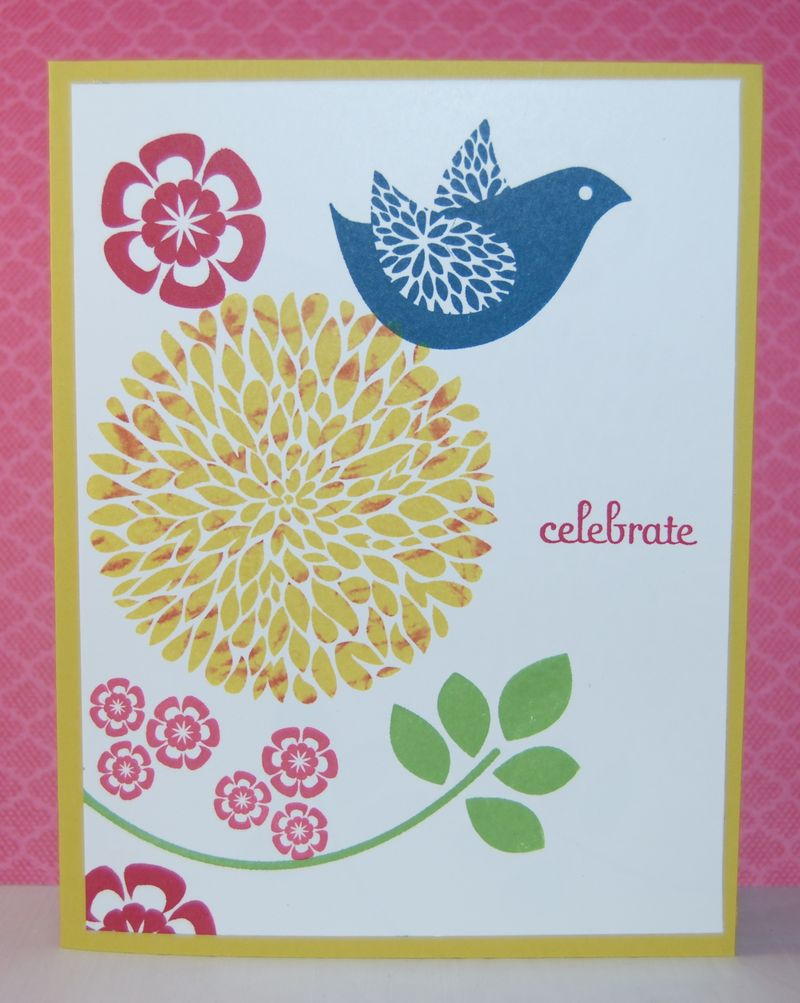 Betsy's Blossoms stamp set-1
