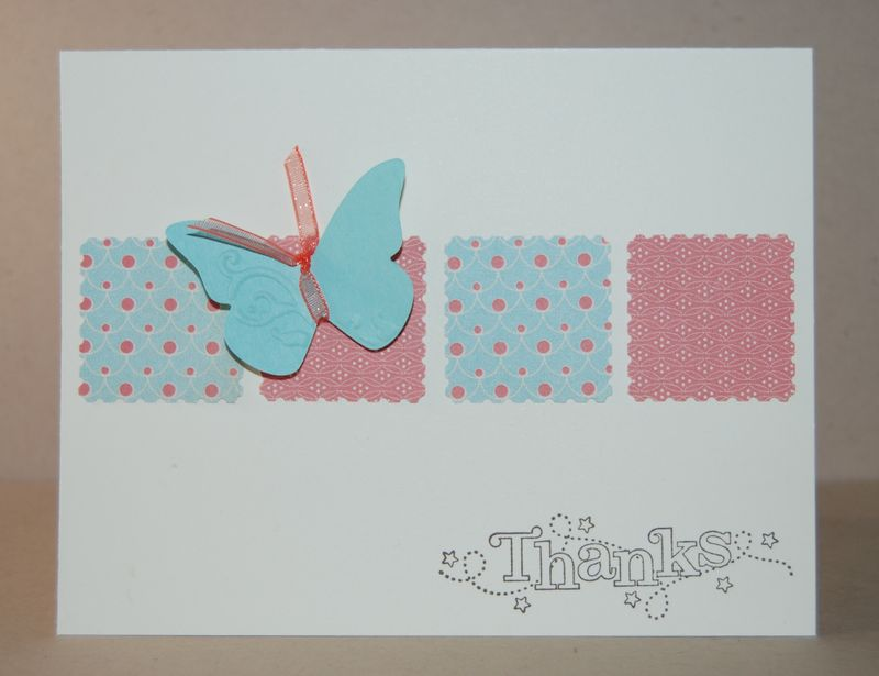 Outlined Occasions stamp set with butterfly
