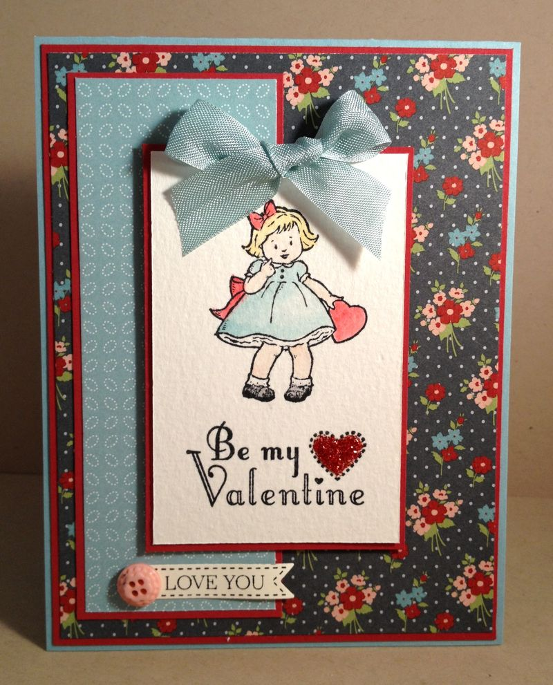 SC418 Greeting Card Kids Valentine